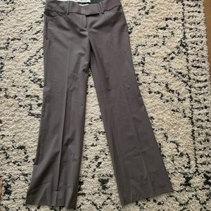 Ann Taylor modern trouser taupe color. Size 4 NWT.